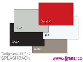 Vzorník barev Splashback
