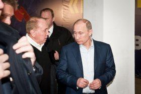 Prezident Putin na návštěvě KVN