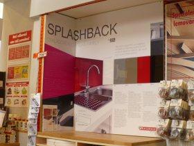 Splashback v nabídce hobby-marketu BAUHAUS