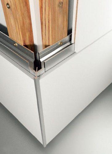 Příklady použití hliníkových upevňovacích profilů na dřevěném roštu